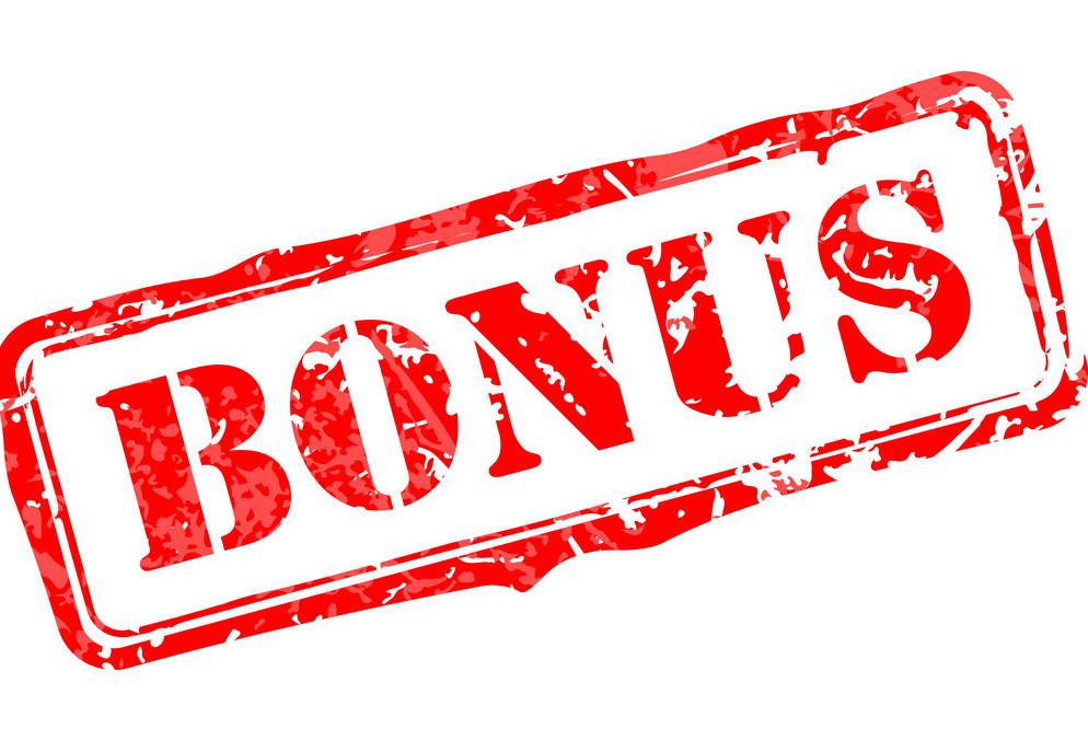 bonus za rejestracje